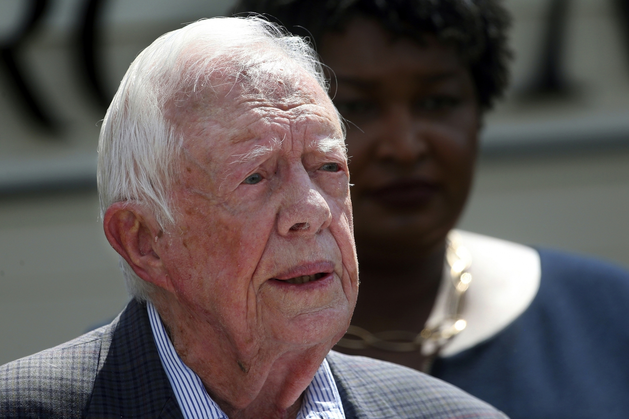 Jimmy Carter says he couldn't have managed presidency at ...