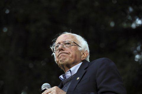 Presidential candidate Bernie Sanders hospitalized
