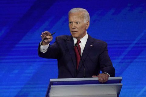 Debate opens new fronts on guns, Biden's age in Democratic race