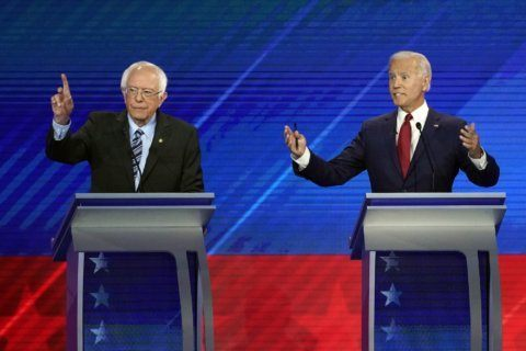 Sanders-Biden feud ramps up in front of key union audience