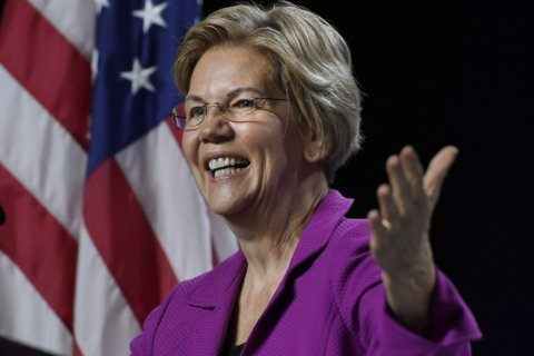 Elizabeth Warren decries Trump as 'corruption in the flesh'
