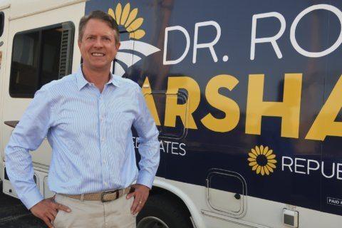 Western Kansas congressman opens Senate bid to block Kobach