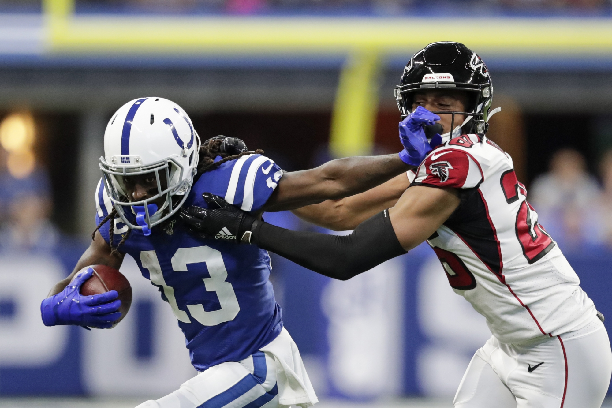 uk availability 6fae9 92576 Brissett's fast start helps Colts hold off Falcons 27-24   WTOP