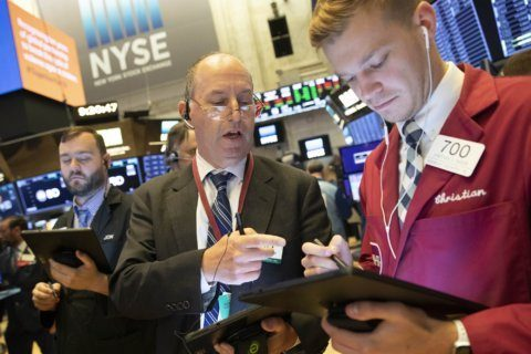 Markets Right Now: Stocks fall as oil prices spike