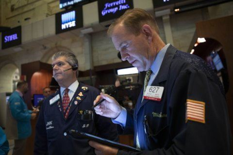 Markets Right Now: Stocks rise modestly, led by tech