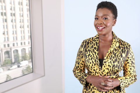 Folake Olowofoyeku hearts life in the television comedy lane