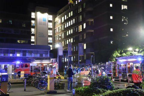 1 dead, 19 people injured in German hospital fire