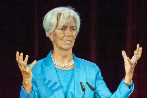 The Latest: Lagarde aims to better explain ECB policies