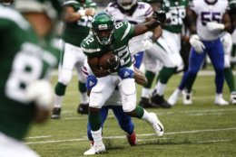 <p><b><i>Bills 17</i></b><br /> <b><i>Jets 16</i></b></p> <p>Not to be outdone, the much-hyped Jets also lost at home to open the Adam Gase era in Gotham, as Jamison Crowder&#8217;s debut (14 catches, 103 total yards) trumped Le&#8217;Veon Bell&#8217;s (92 yards on 23 touches) and Gregg Williams&#8217; defense couldn&#8217;t hold on to a 16-point second half lead. It&#8217;s fitting that the Jets and Browns will duel next Monday night to avoid a surprising 0-2 start to what was supposed to be a promising season.</p>