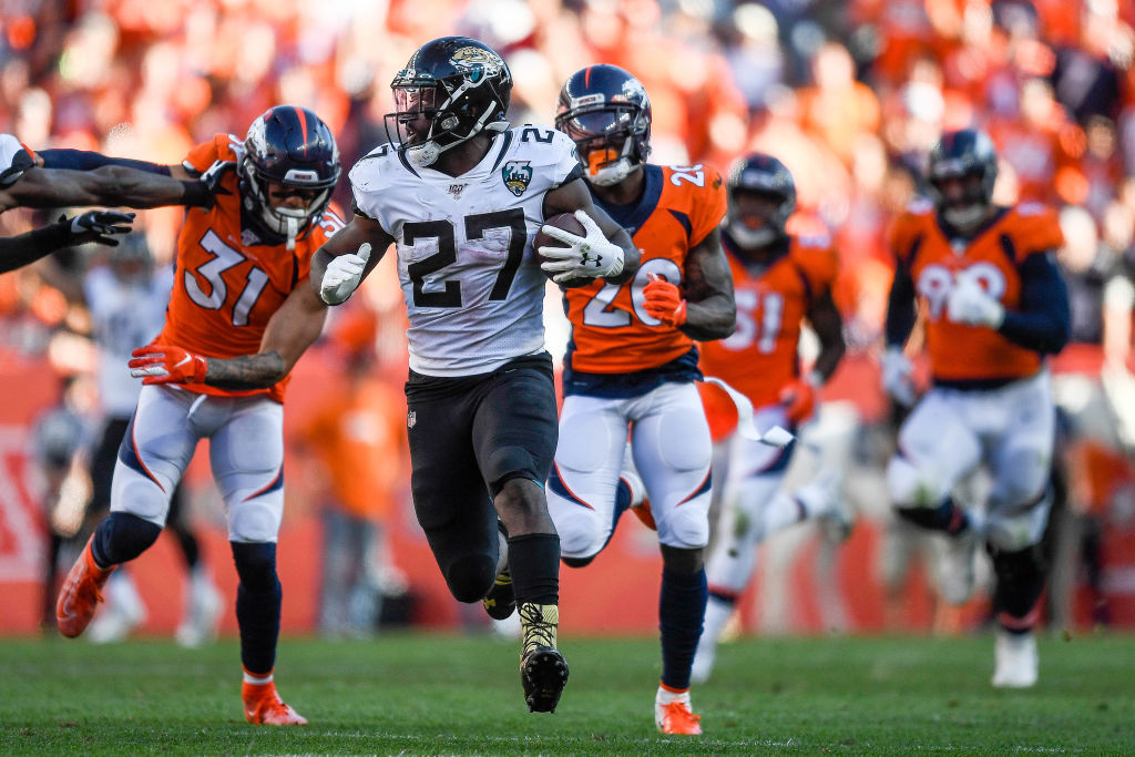 <p><b><i>Jaguars 26</i></b><br /> <b><i>Broncos 24</i></b></p> <p>I know everyone is enraptured in Minshew Magic, but Leonard Fournette&#8217;s career-high 225 yards, the Ramsey-less defense&#8217;s first takeaway and some clutch kicking by Josh Lambo made Jacksonville look ready to contend in a division totally up for grabs.</p>