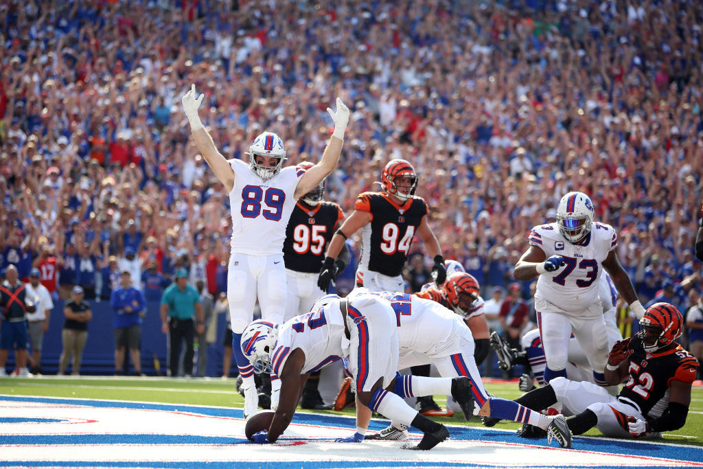 "<p><b><i>Bengals 17</i></b><br /> <b><i>Bills 21</i></b></p> <p>Buffalo is 3-0 and has <a href=""https://www.espn.com/nfl/team/_/name/buf/buffalo-bills"">a schedule</a> that implies the Bills could steal the Browns&#8217; thunder and be the team that crashes the playoff party this year.</p>"