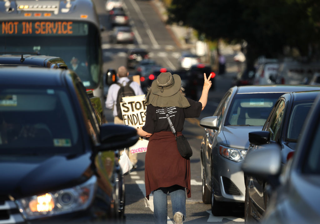 Dozens Arrested As Climate Protesters Disrupt Dc Traffic Wtop