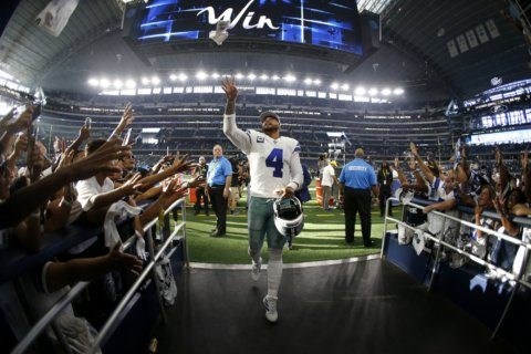 Dak leads Cowboys into Week 2 matchup vs. Keenum's Redskins