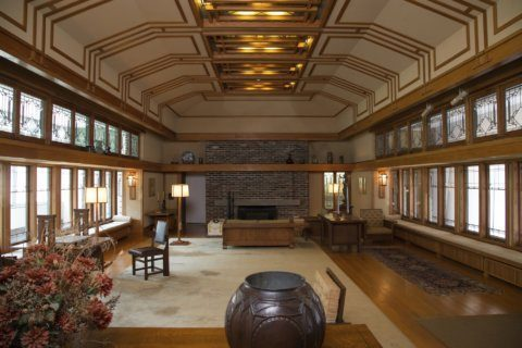 A new look at Frank Lloyd Wright's textiles, home goods