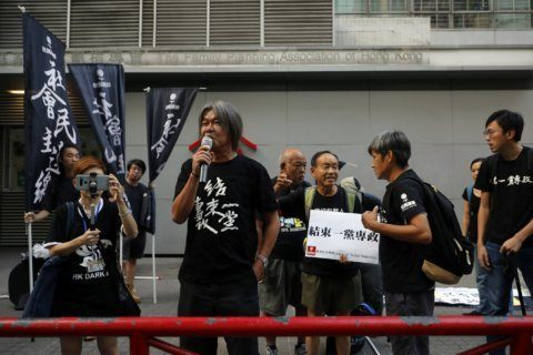 Hong Kong protester shot as China marks its 70th anniversary