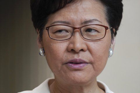 Lam says PR firms declined to help restore Hong Kong's image