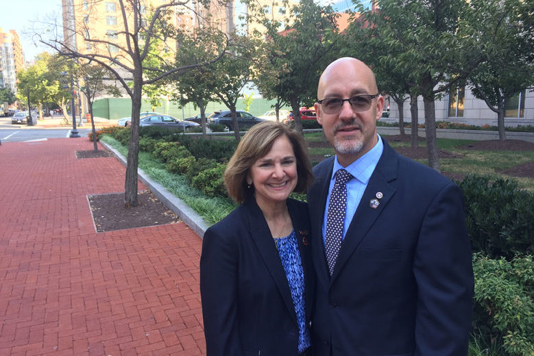 FBI Special Agents Tom and Jean O'Connor