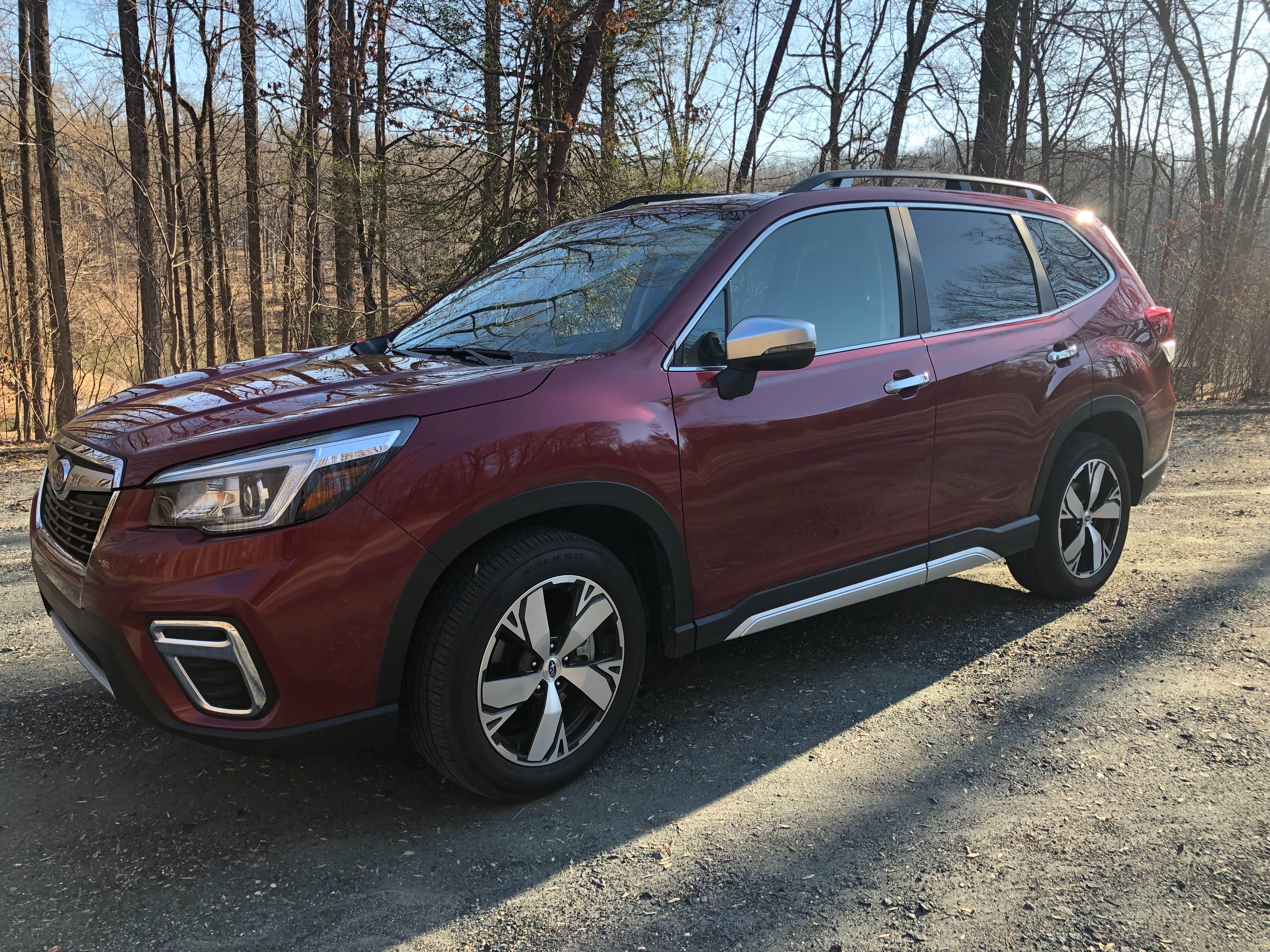 Car Review Looking For A Small Capable Suv Subaru Forester Touring Is Refined Compact Crossover Wtop