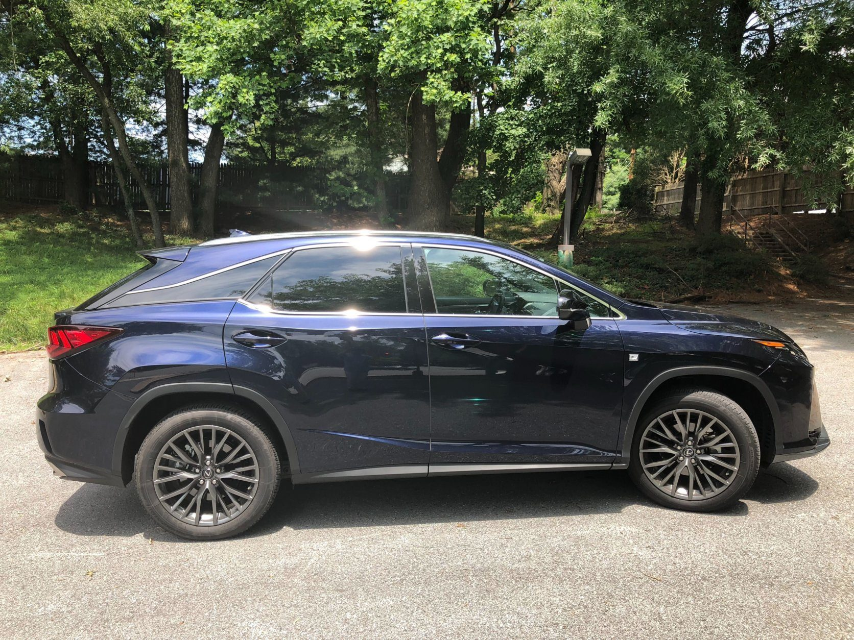 <p>The smaller RX 350 is geared to tighter back roads while the RX 350L shows its extra weight in tighter turns. There is a bit of firmness in the suspension so bigger bumps are noticed at lower speeds.</p> <p>On the highway, the RX350 is one quiet cruiser. The eight speed automatic is smooth but it tries to quickly shift to higher gear for better fuel economy.</p> <p>Both RX models came with AWD and the smaller RX 350 scored 22.4 mpg and the larger RX 350L was 20.4 mpg. Neither is at top-of-the-class for MPG but both were close to their sticker estimate.</p>