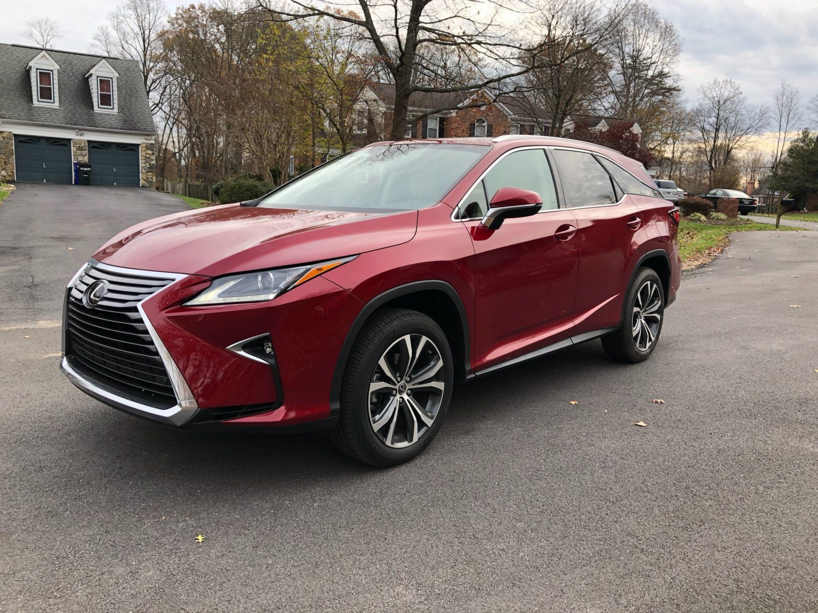 <p>The heavier RX 350L feels a little slow when five of the six seats are filled.</p> <p>Both versions of the car are easy to live with on a daily basis, and do a decent job of handling all-road surfaces. Both are confident in turns without lean.</p>