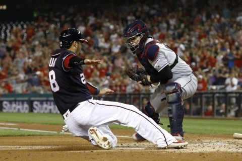 Indians out of AL wild-card chase after 8-2 loss at Nats
