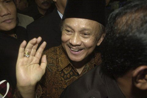 Indonesians bury former president Habibie at state funeral