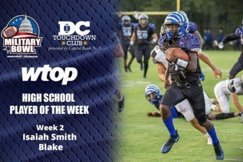 Isaiah Smith, fitting in at QB, wins Player of the Week