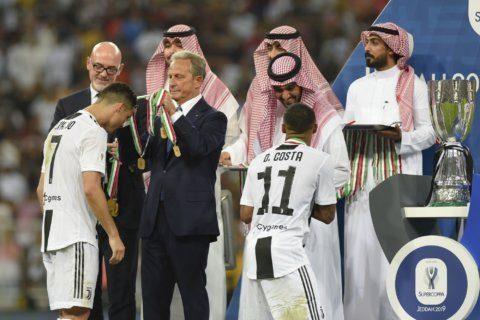 Protests renewed against Italian Super Cup in Saudi Arabia