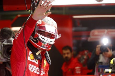 Leclerc fastest in both practice sessions for Italian GP