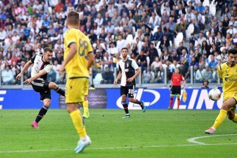 Ramsey and Buffon help Juventus beat Verona 2-1
