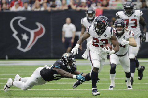 Hyde thrives for Texans in wake of injury to Miller
