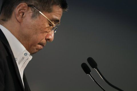 Nissan chief got dubious payments but says he didn't know