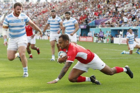 From TV to reality: Veainu has a chance to take on France