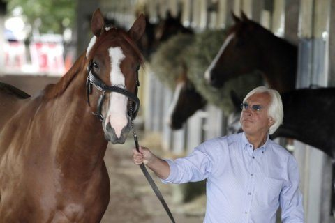 Baffert: Justify's positive test came from contaminated food