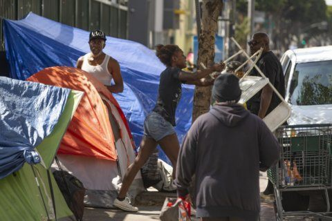 Trump says he will do 'something' about homelessness
