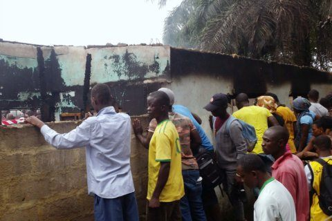 Electrical short caused Liberia fire that killed 27 children