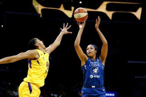 Lynx forward Napheesa Collier named WNBA Rookie of Year
