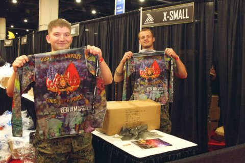 After getting grief for 2018 shirt, Marine Corps Marathon is set to roll out new winning look