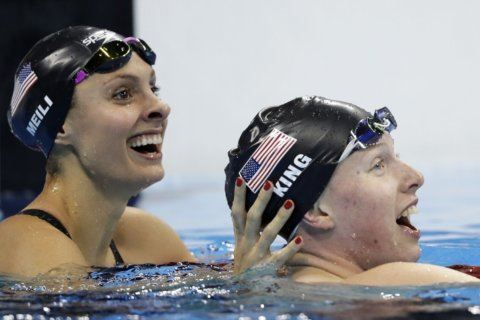Olympian Katie Meili, all smiles in retirement, keeps busy with local public service