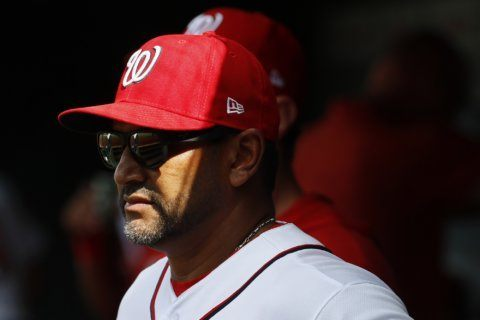 Nationals manager Martinez misses Monday's game