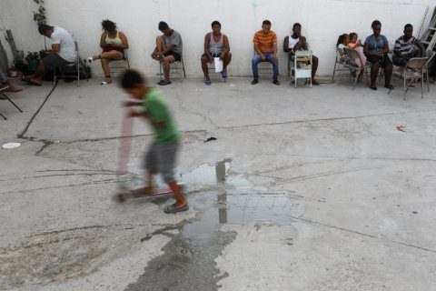 In despair of Mexican shelter, migrants build a community