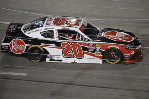 Bell opens Xfinity playoffs with dominant run