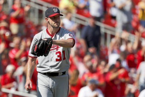 Scherzer finishes 3rd in NL Cy Young (Updated)