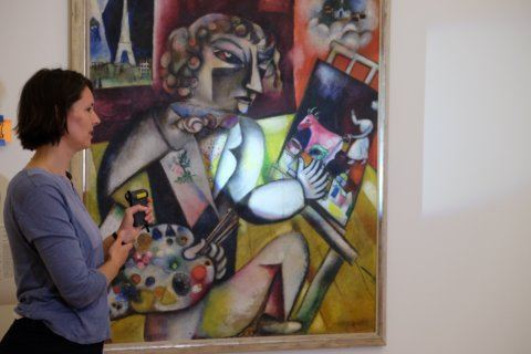 Amsterdam museum presents results of 5-year Chagall research