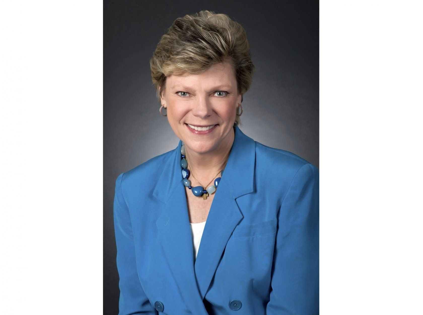 This 2010 photo released by ABC News shows political journalist Cokie Roberts in Washington. Roberts, the daughter of politicians who grew up to cover the family business in Washington for ABC News and NPR over several decades, died Tuesday, Sept. 17, 2019, in Washington of complications from breast cancer. She was 75. (Randy Sager/ABC via AP)