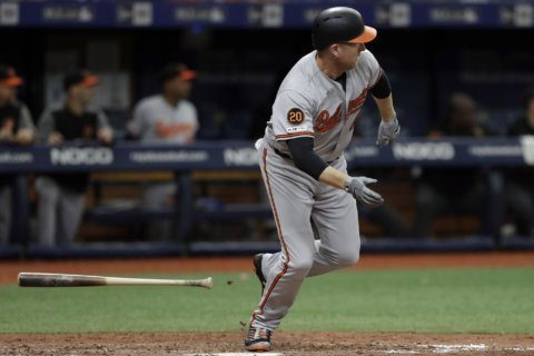 Meadows, Rays relievers stop O's 2-0 for doubleheader split