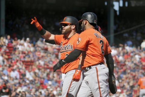 Núñez homers again, Orioles hit 4 HR in 9-4 win over Red Sox