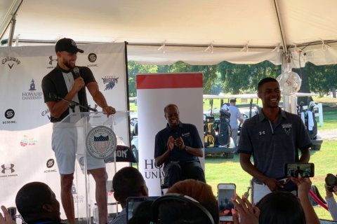 How a Howard student convinced Steph Curry to start a golf program