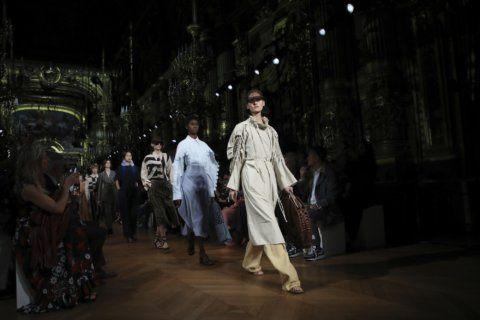 McCartney presents eco-manifesto at Paris Fashion Week show