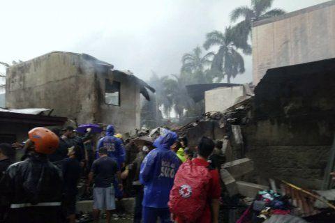 All 9 aboard medical evac plane killed in Philippines crash